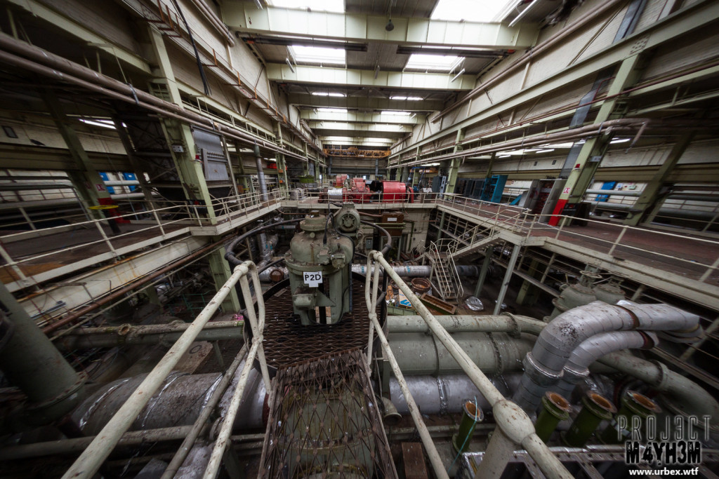 National Gas Turbine Establishment Pyestock Plant House