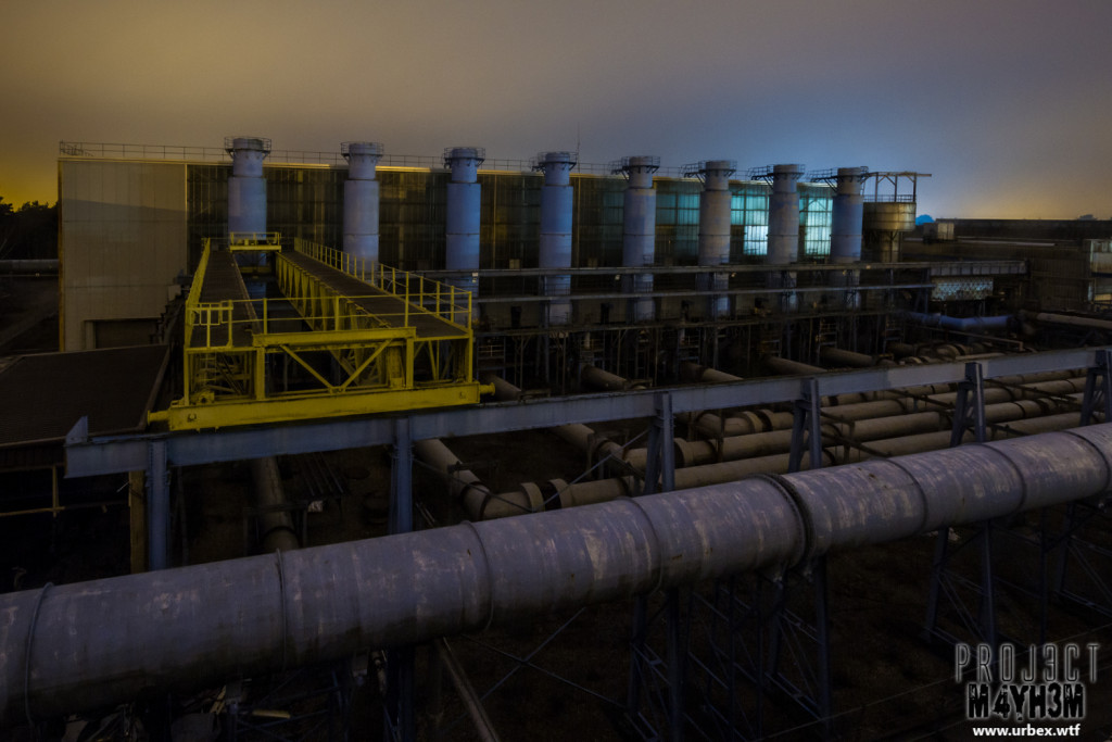 National Gas Turbine Establishment Pyestock - The Air House at 5:30am
