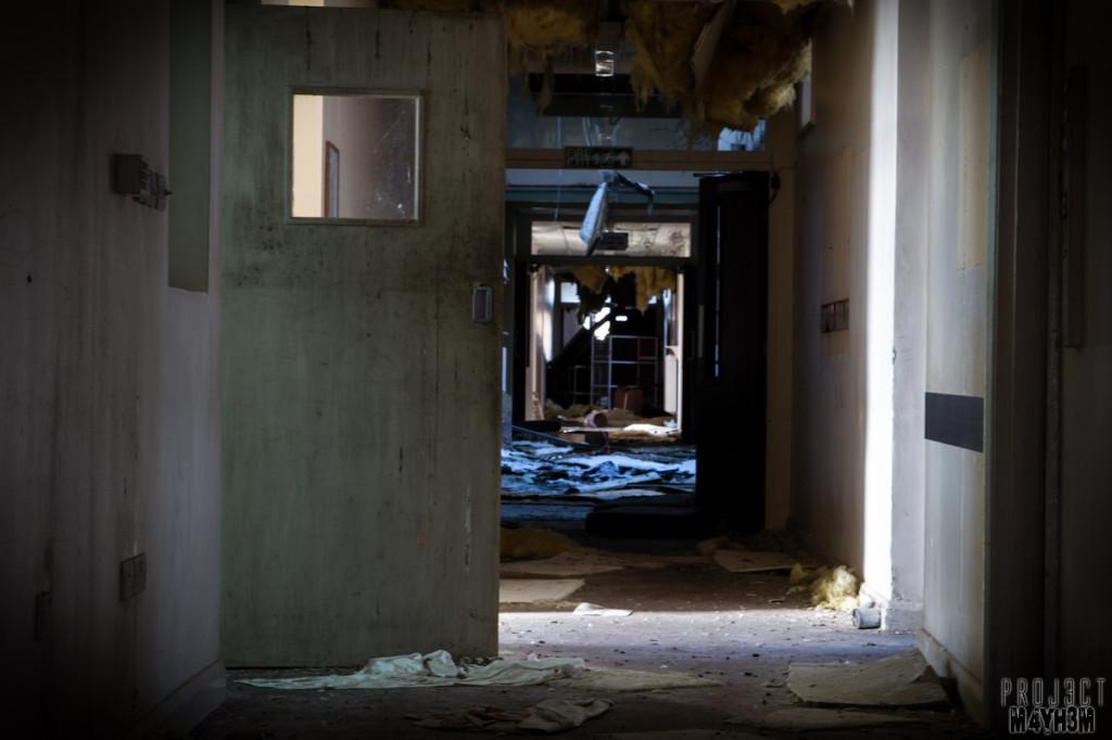 Rossendale General Hospital Corridor