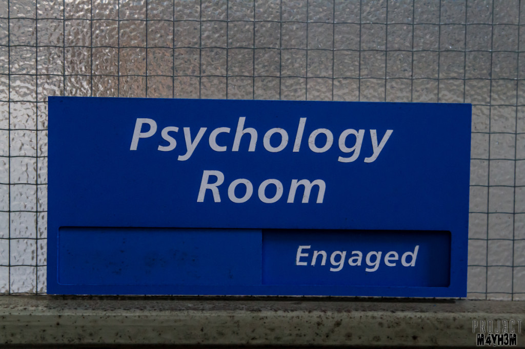 Rossendale General Hospital - Psychology Room
