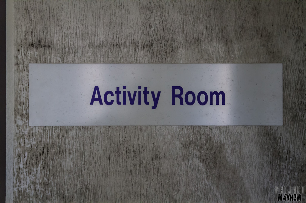 Rossendale General Hospital - Activity Room