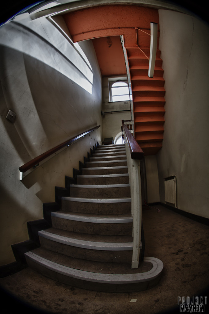 Rossendale General Hospital - Stairway