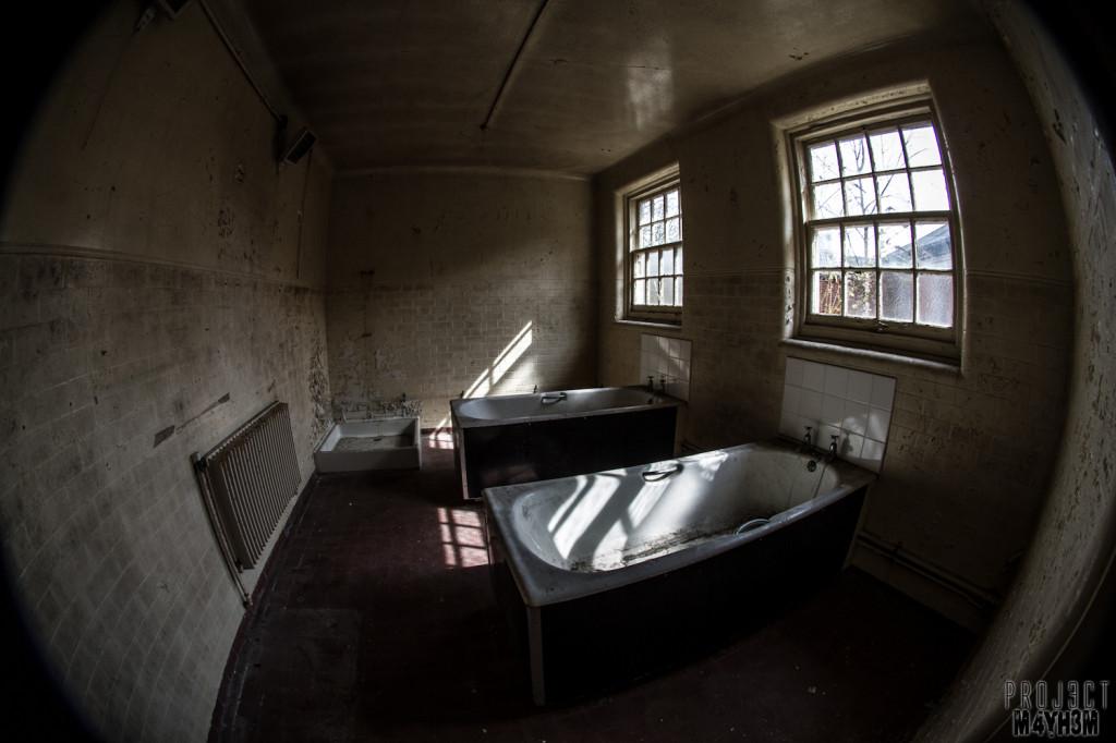 Severalls Lunatic Asylum - Bath Time