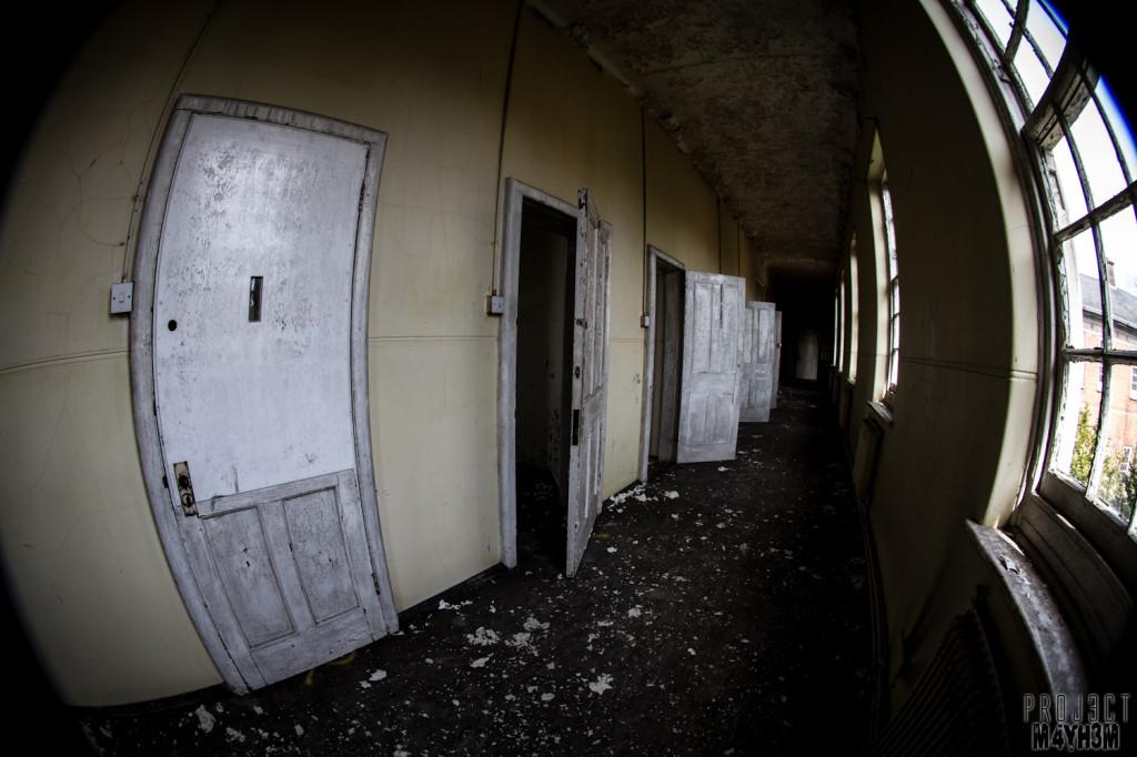 Severalls Lunatic Asylum - Corridor of Cells