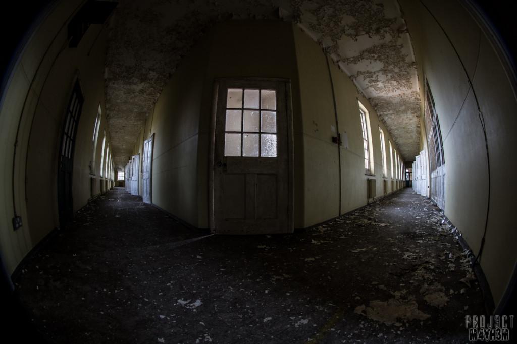 Severalls Lunatic Asylum - Cell Corridors