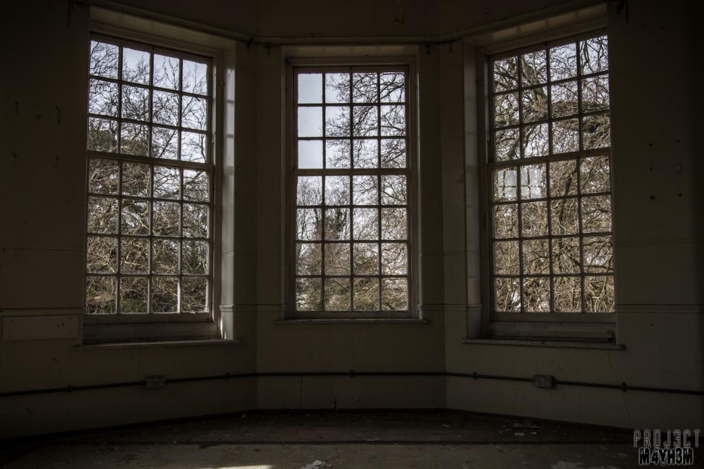 Severalls Lunatic Asylum - Bay Window