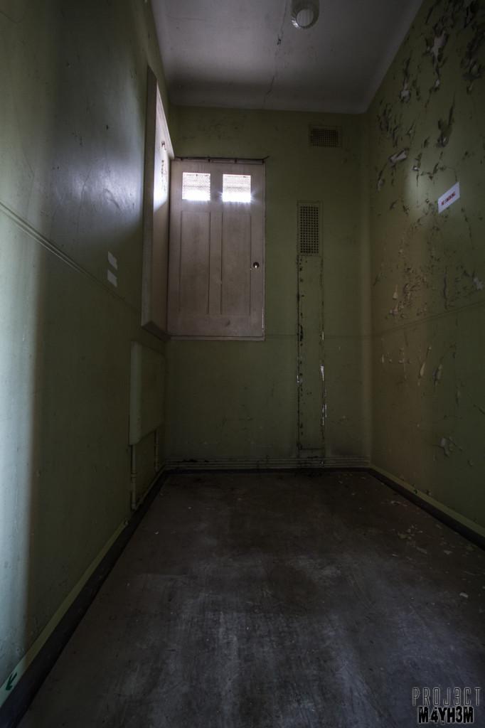 Severalls Lunatic Asylum - Cell