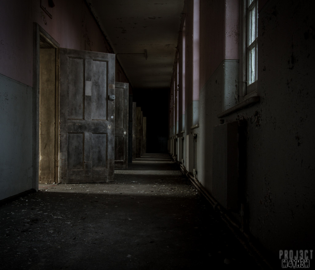Severalls Lunatic Asylum - Corridor of Cells