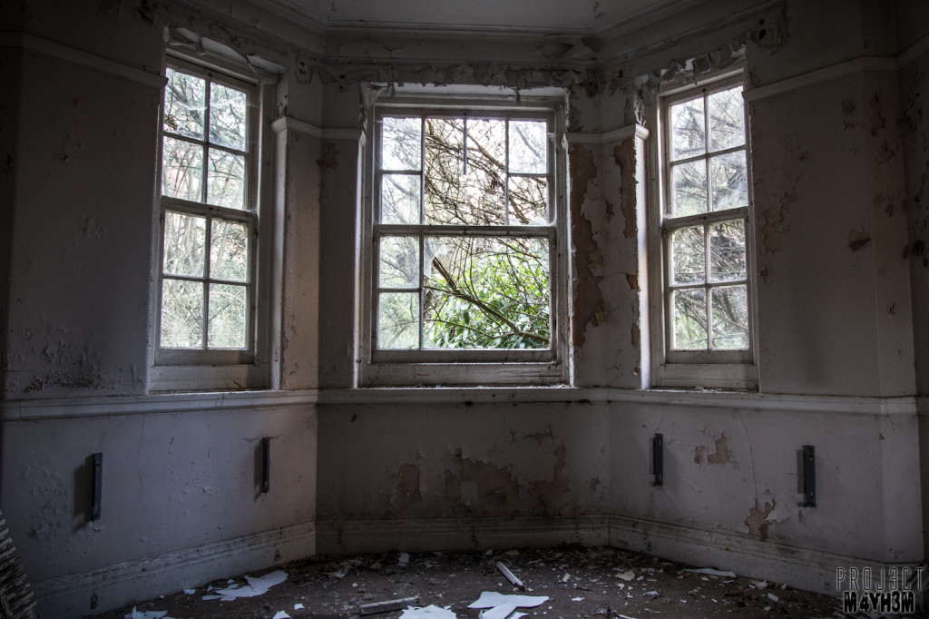 Severalls Lunatic Asylum - Bay Window