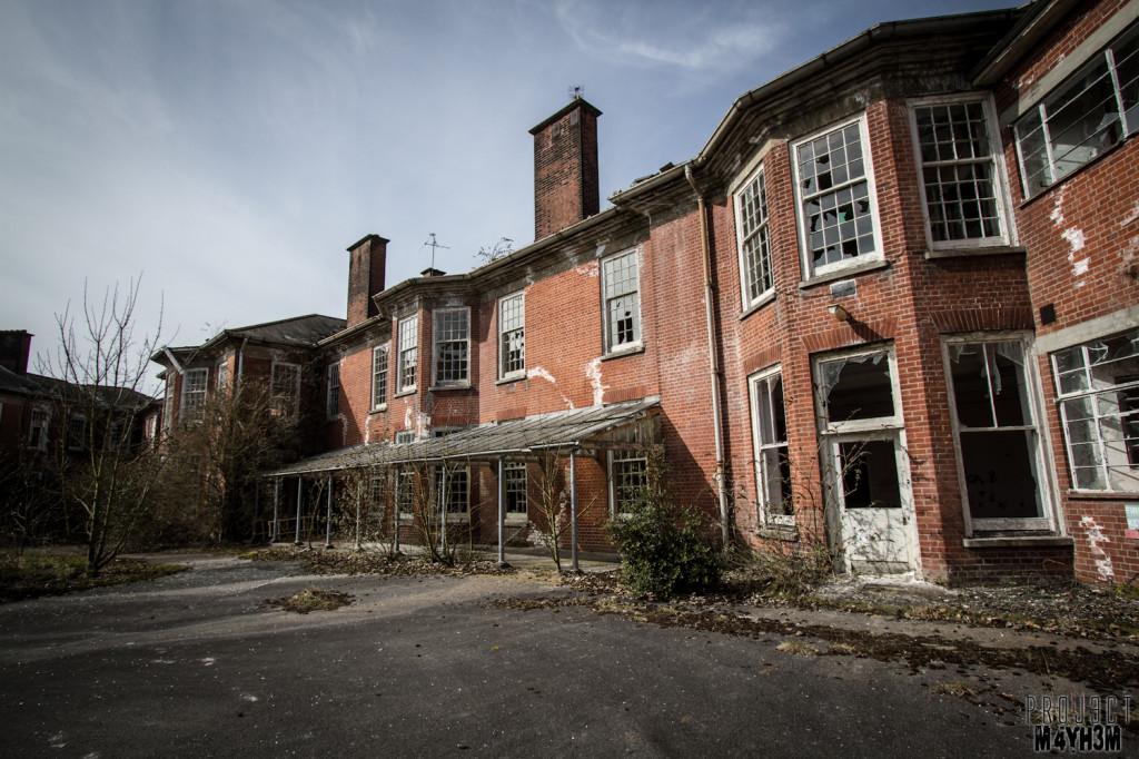 Severalls Lunatic Asylum - External