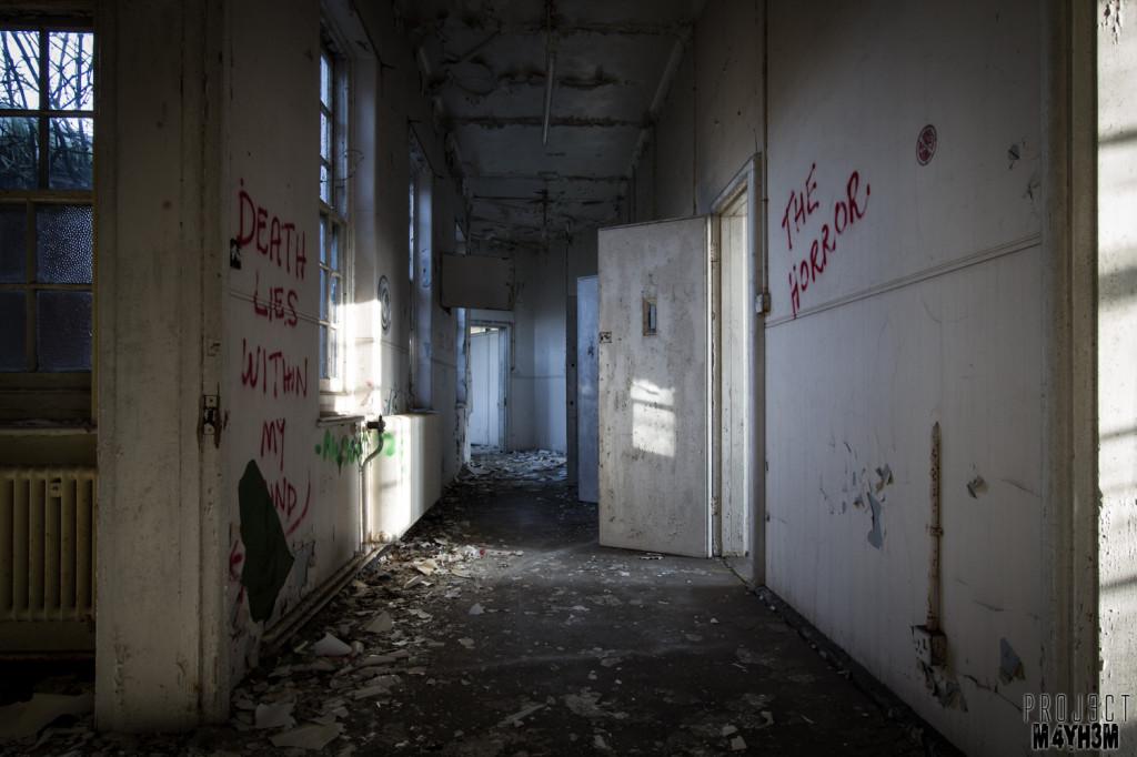 Severalls Lunatic Asylum - Cell Corridor