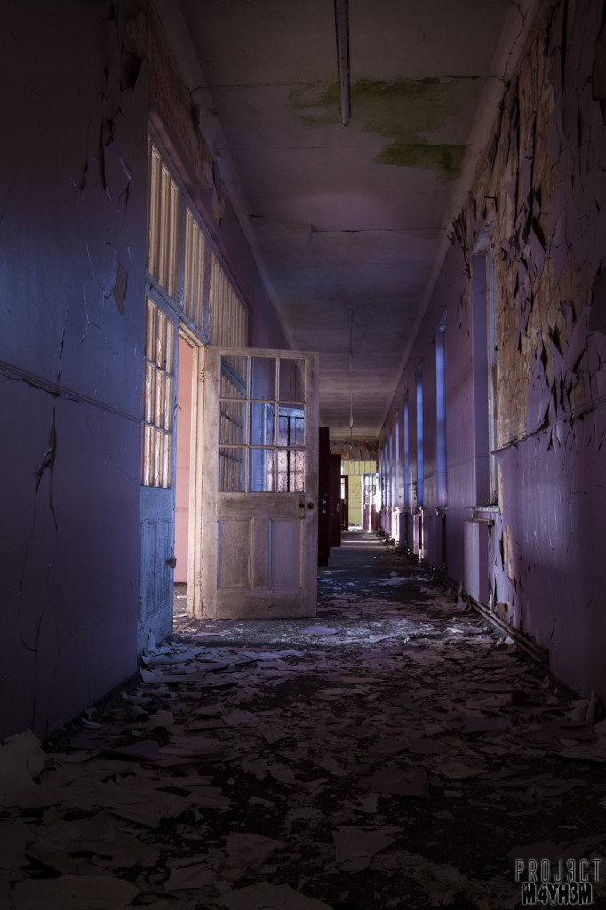 Severalls Lunatic Asylum - Purple Corridor