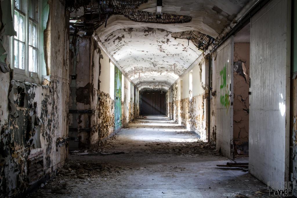 Severalls Lunatic Asylum - Corridor