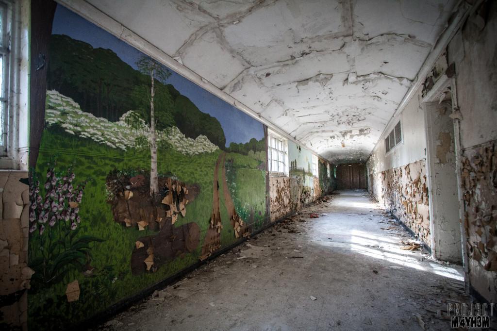 Severalls Lunatic Asylum Murals