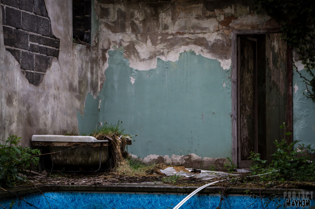 Dr X Manor House - The Pool