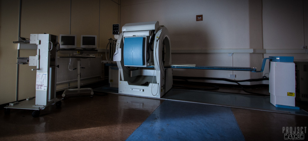 The Royal Hospital Haslar - Radiation Department Body Scanner