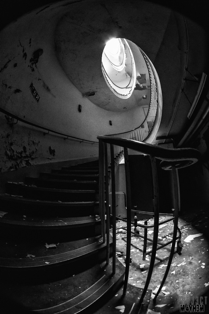 The Royal Hospital Haslar - The Spiral Staircase