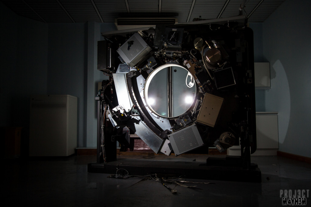 The Royal Hospital Haslar - Stargate aka MRI Scanner