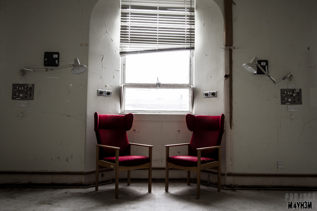 The Royal Hospital Haslar - Red Chairs