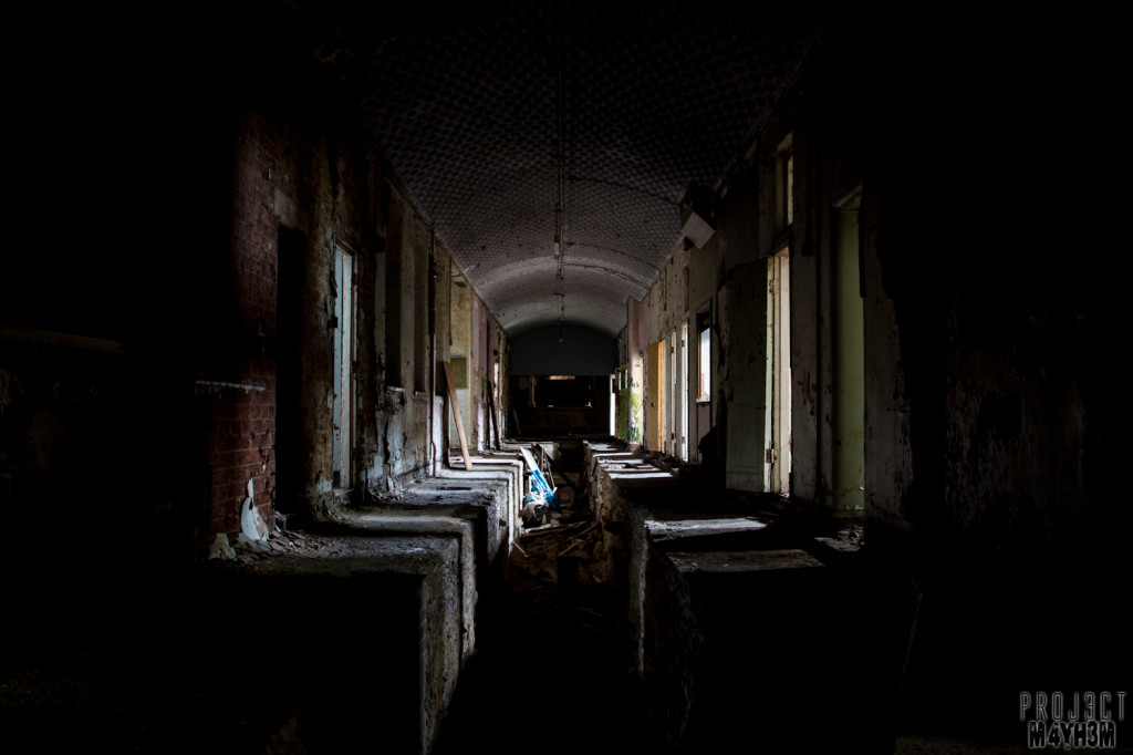 St Johns The Lincolnshire County Pauper Lunatic Asylum - Corridor