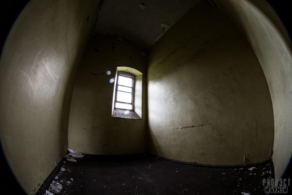 St Johns The Lincolnshire County Pauper Lunatic Asylum - Inside the cells