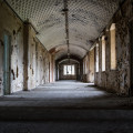 St Johns The Lincolnshire County Pauper Lunatic Asylum - Cell Corridors