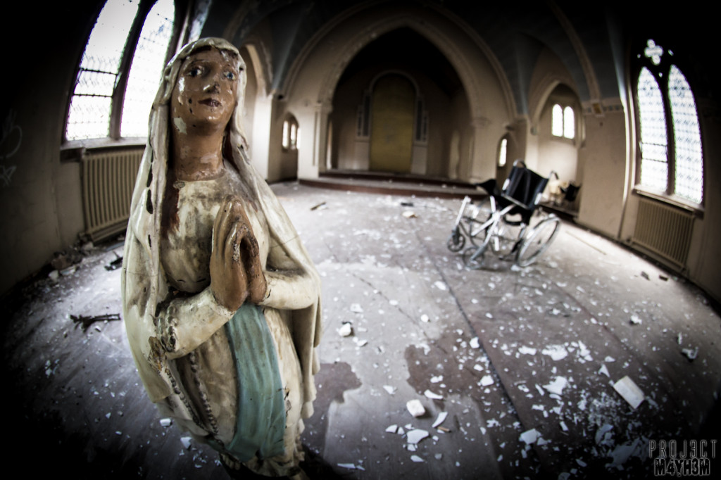 St Josephs Orphanage - The Virgin Mary