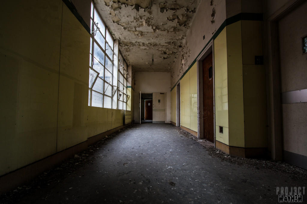 St Josephs Orphanage - Corridors