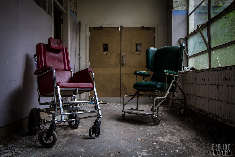 St Josephs Orphanage - Wheelchairs