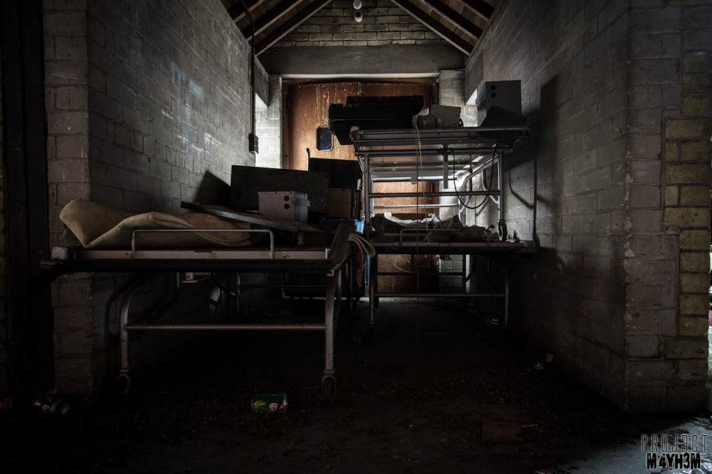 St Josephs Orphanage - the attic