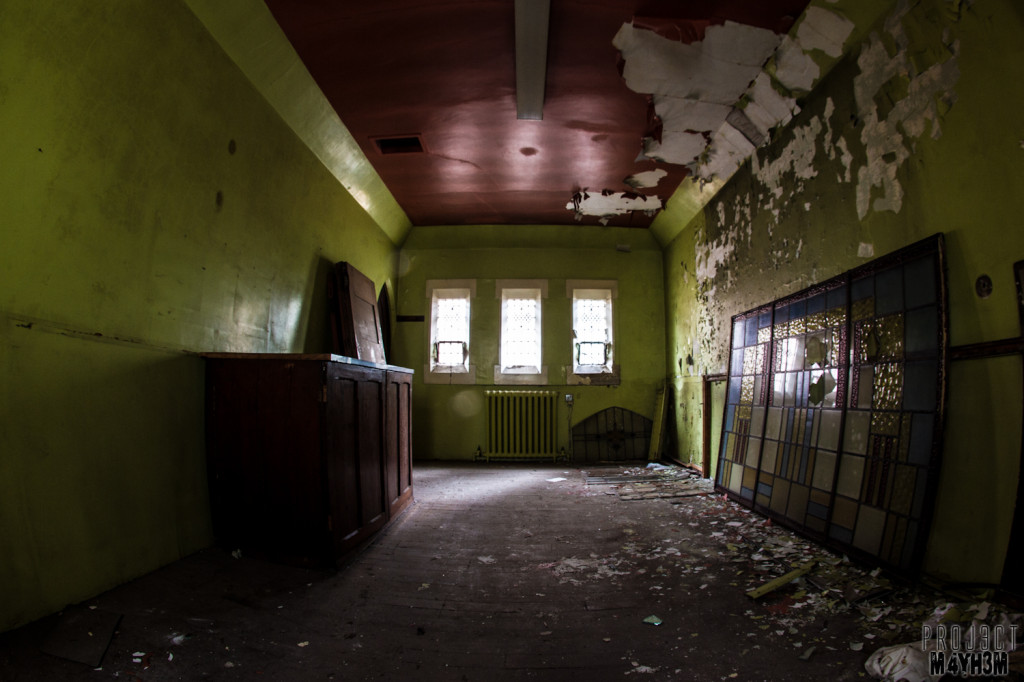 St Josephs Orphanage - The Back Room
