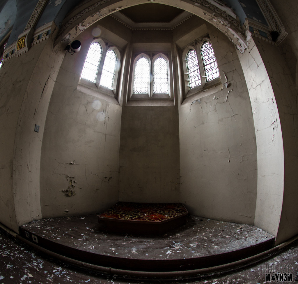 St Josephs Orphanage - The chapel