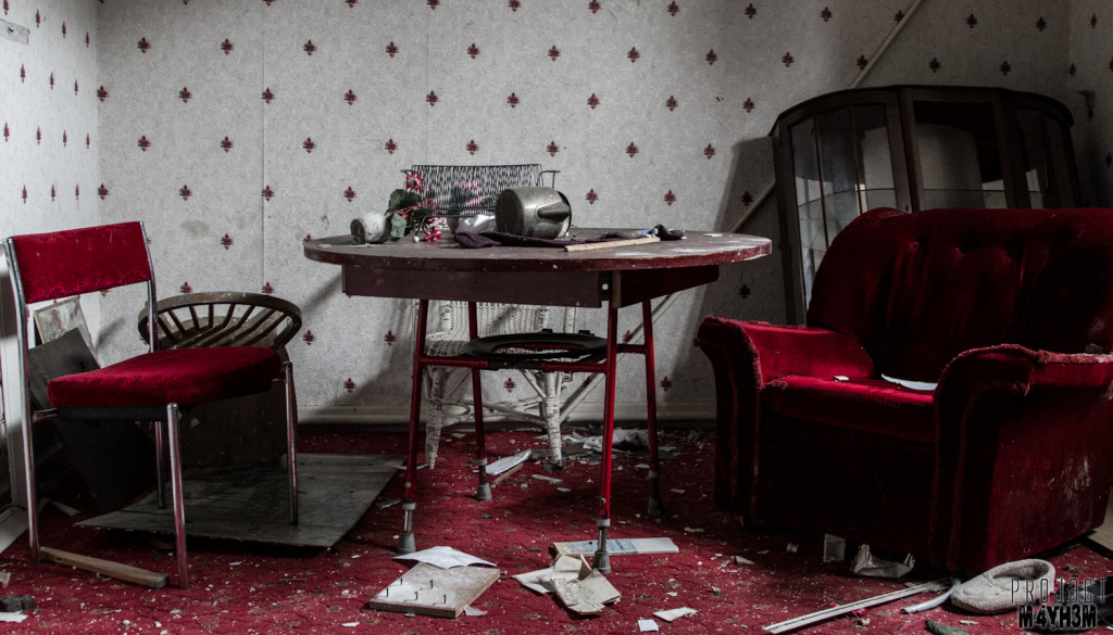 St Josephs Orphanage - The red room