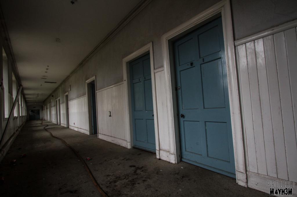 RCH Asylum Corridor of Cells