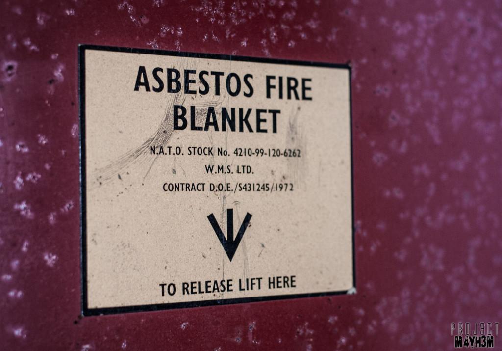 RCH Asylum Asbestos Fire Blanket