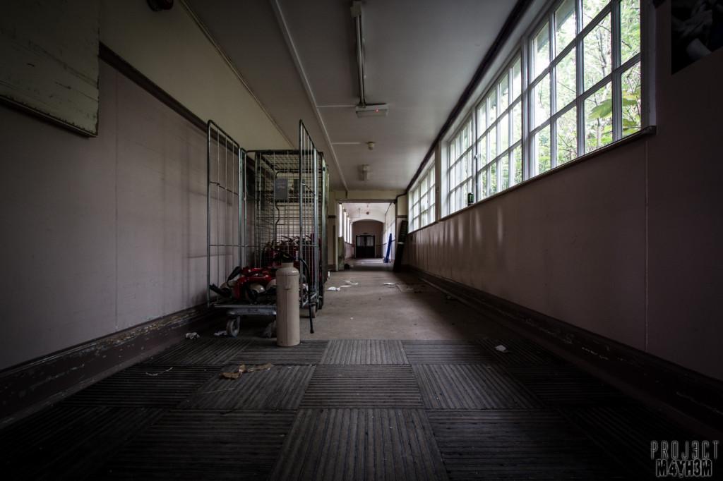 The Unseen Asylum - Corridor