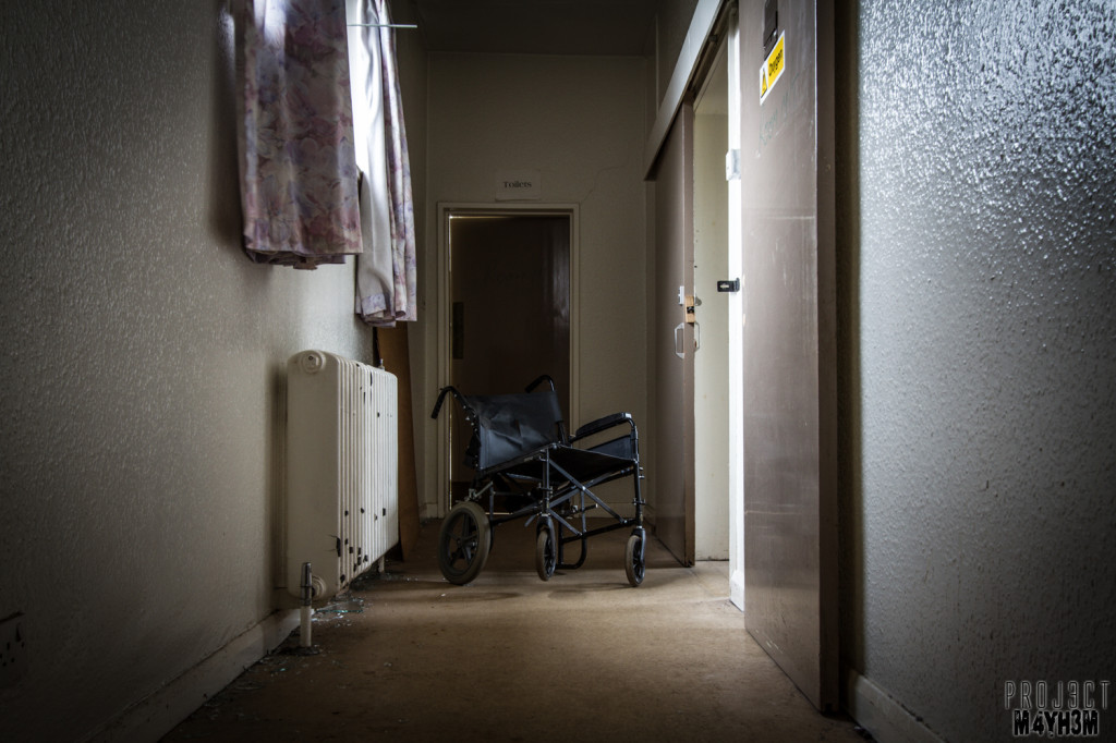 The Unseen Asylum - Wheel Chair