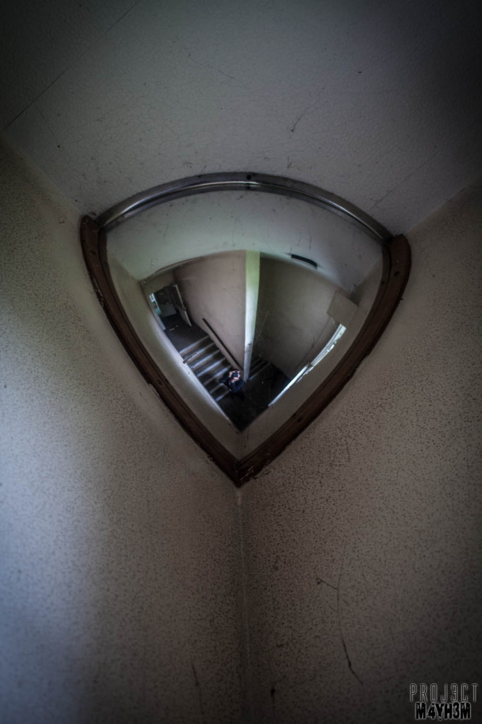 OM Asylum Staircase