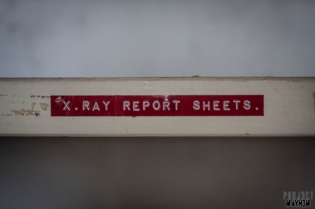 OM Asylum X-Ray Report Sheets