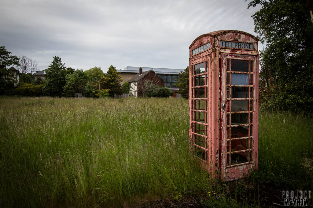 OM Asylum Telephone Box