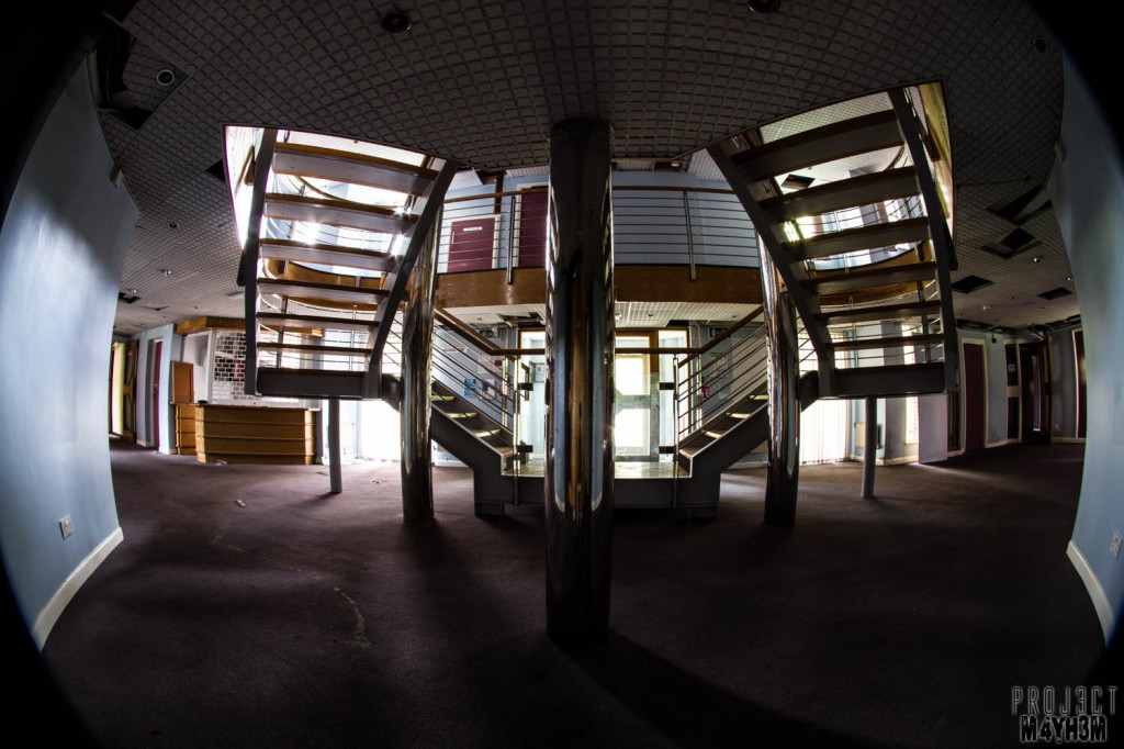 Serenity Hospital - Staircase
