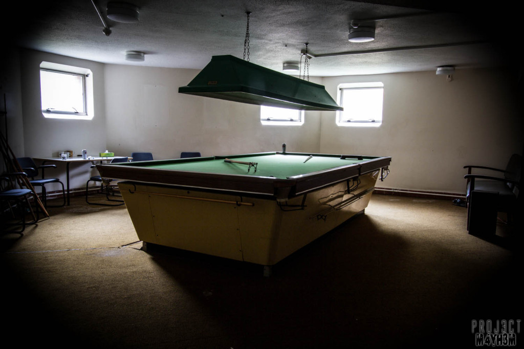 Serenity Hospital - Snooker Table