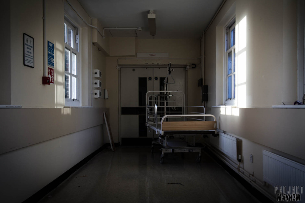Serenity Hospital Beds in the Halls