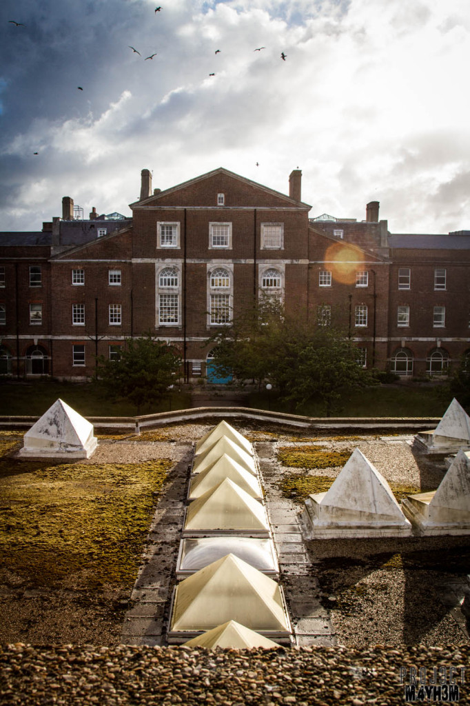 Serenity Hospital Rooftops