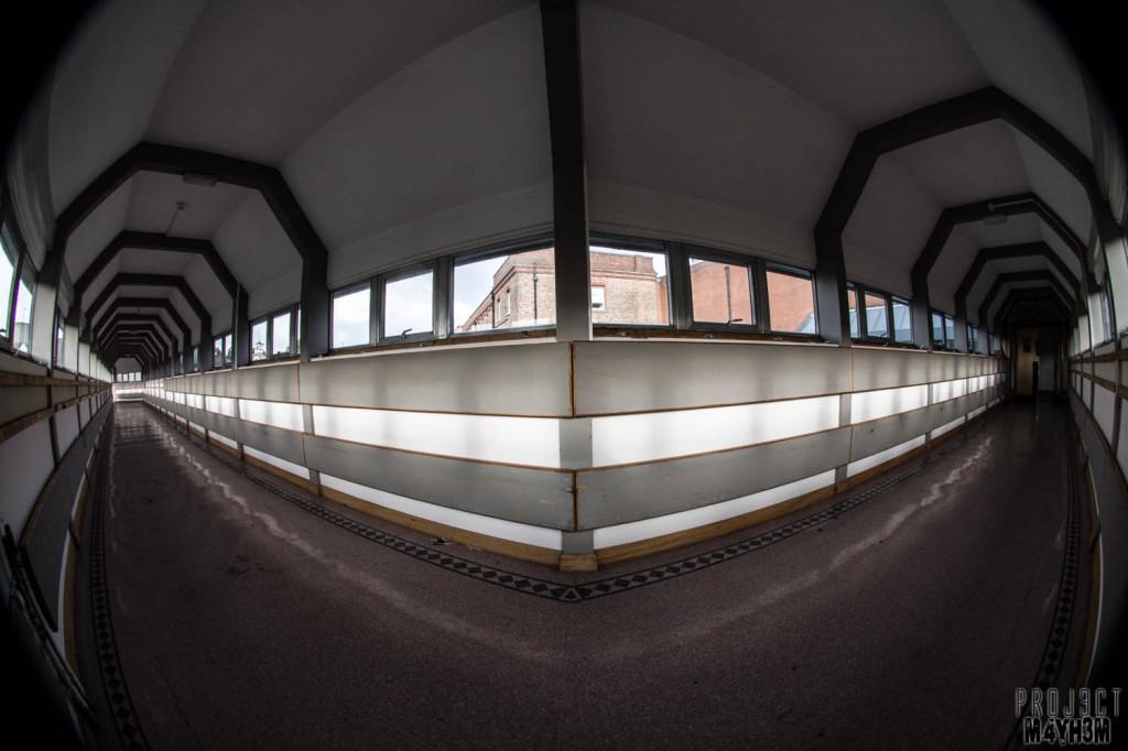 Serenity Hospital Corridors