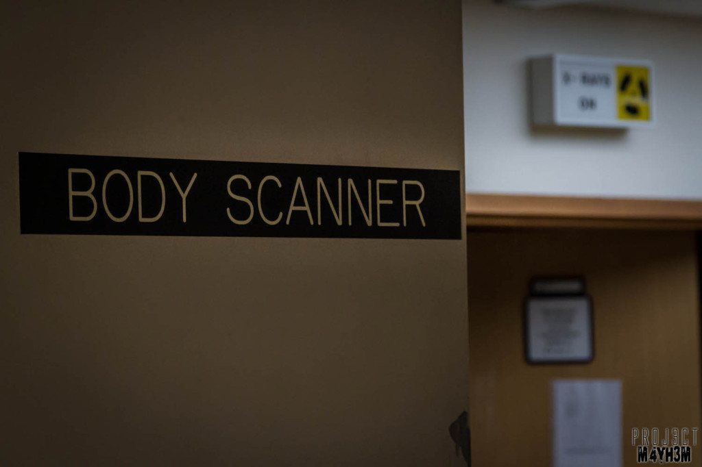 Serenity Hospital Body Scanner