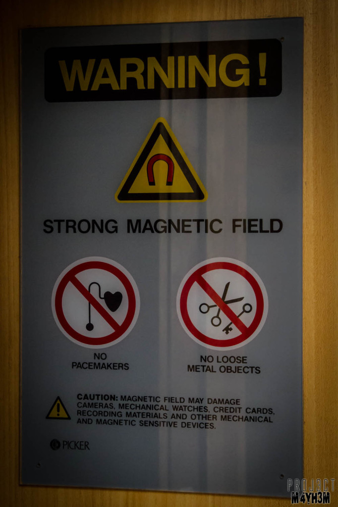 Serenity Hospital Danger Strong Magnetic Field