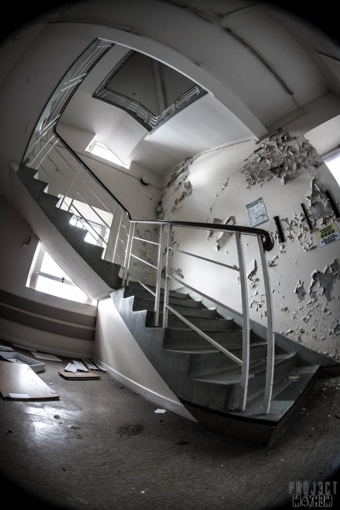 Serenity Hospital - Staircase