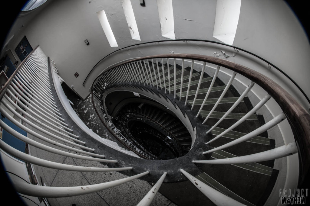 Serenity Hospital - Spiral Staircase