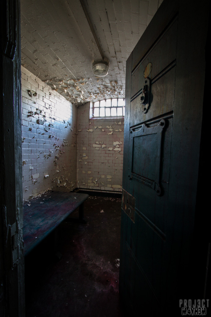 Sheffield Crown Courts - The Prison Cells